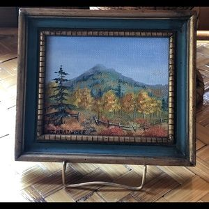Original oil painting by EJHeatwole, Colorado